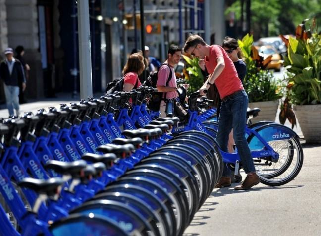 US-TRANSPORT-BICYCLE-SHARE-CITIBIKE