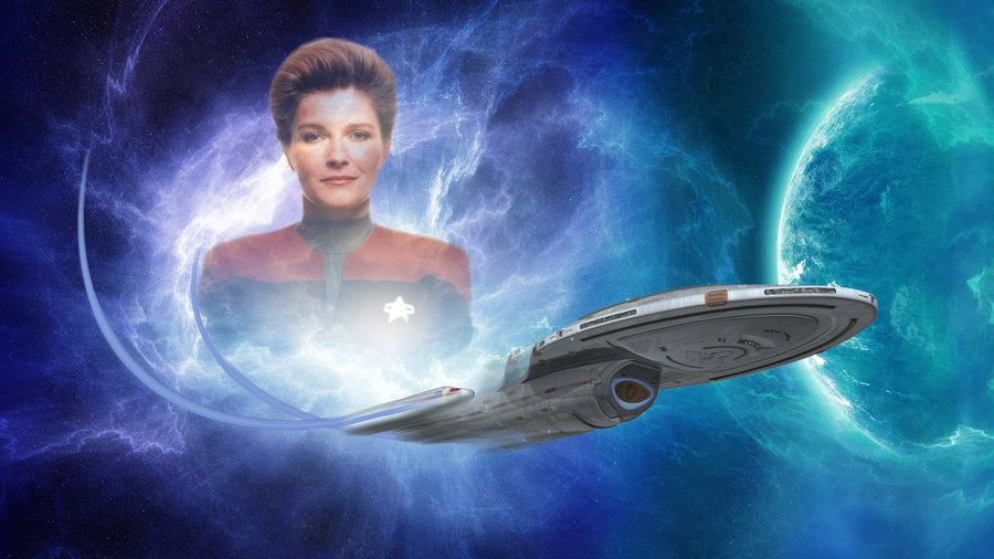 captain_janeway_and_uss_voyager_by_lofty1985-d5bw5r8