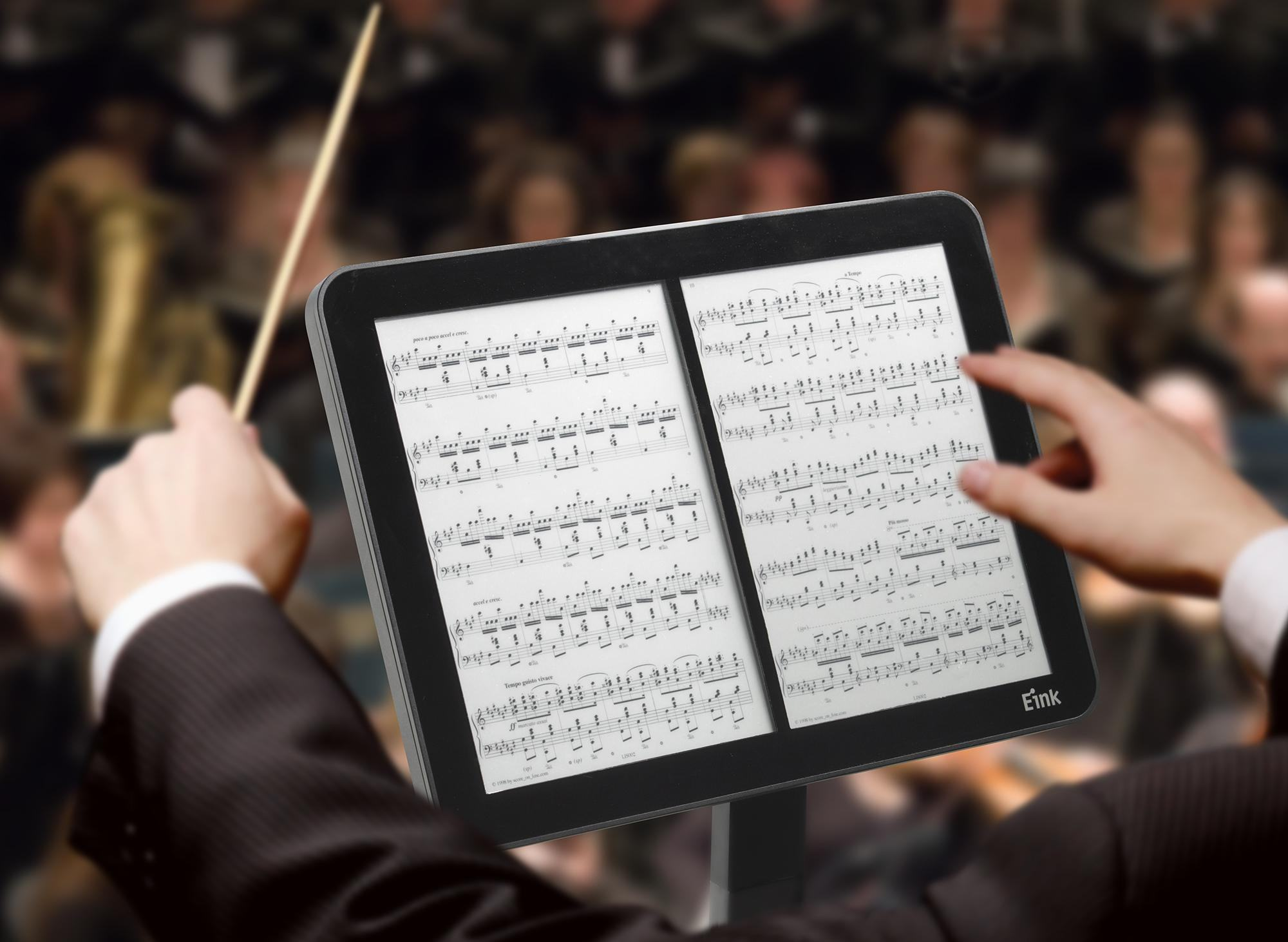 E_Ink_Music_Stand