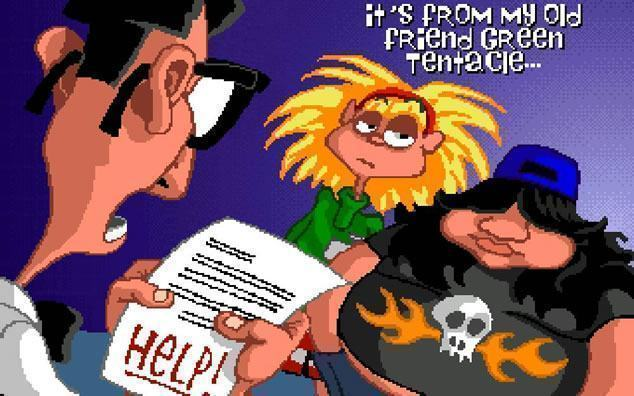 Double Fine anuncia remake do Day of Tentacle