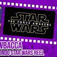 Dragon Con 2015 — Peter Mayhew assistindo ao making-of teaser de Star Wars