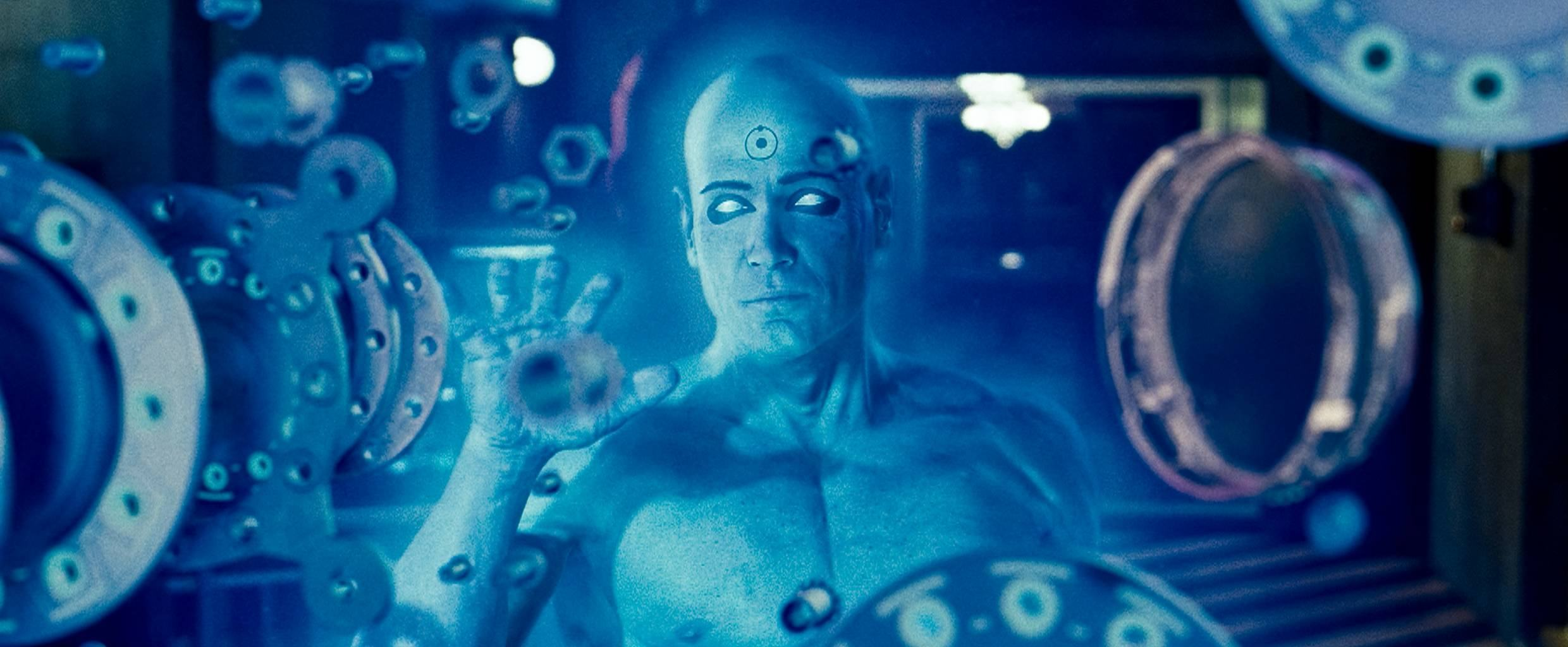 BILLY CRUDUP as Dr. Manhattan in Warner Bros. PicturesÕ, Paramount PicturesÕ and Legendary PicturesÕ ÒWatchmen,Ó distributed by Warner Bros. Pictures. PHOTOGRAPHS TO BE USED SOLELY FOR ADVERTISING, PROMOTION, PUBLICITY OR REVIEWS OF THIS SPECIFIC MOTION PICTURE AND TO REMAIN THE PROPERTY OF THE STUDIO. NOT FOR SALE OR REDISTRIBUTION.