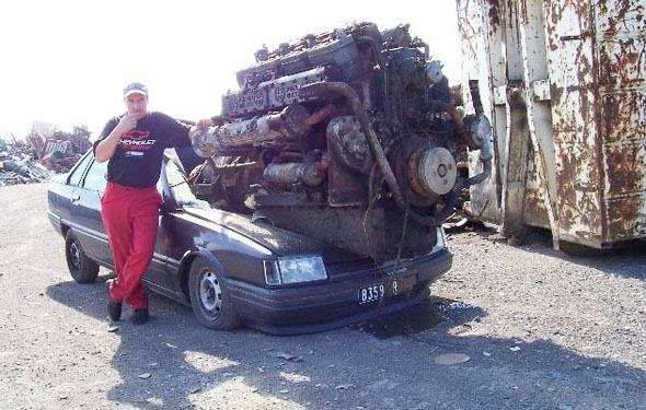 huge-engine-on-crappy-car-559d0f0ed9879