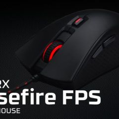 Mouse HyperX Pulsefire FPS — Review