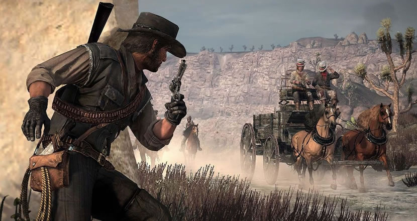 Red Dead Redemption | Assista ao upgrade visual
