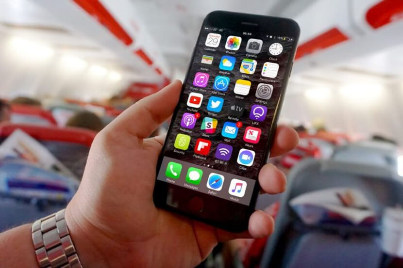 iphone-in-a-plane