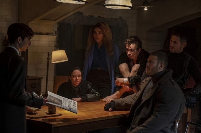Cena de The Umbrella Academy
