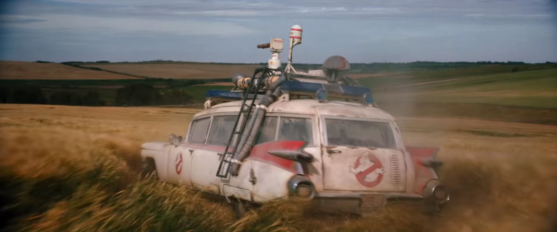 Spoilers; tem o Ecto-1 em Ghostbusters: Afterlife