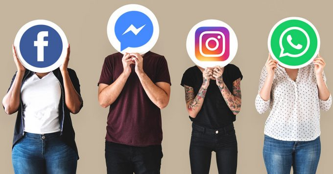 Facebook, Messenger, Instagram e WhatsApp