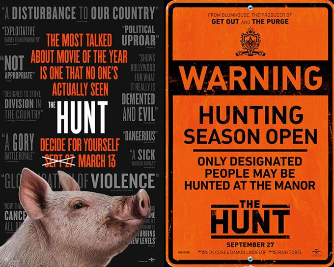 Posters do filme The Hunt