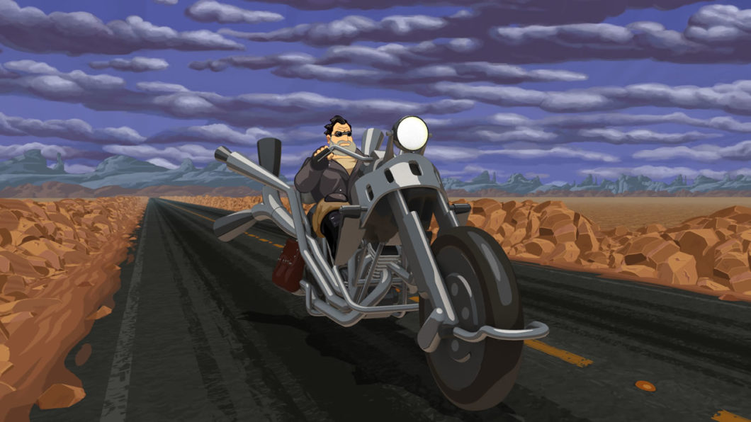 Full Throttle Remastered - point and click