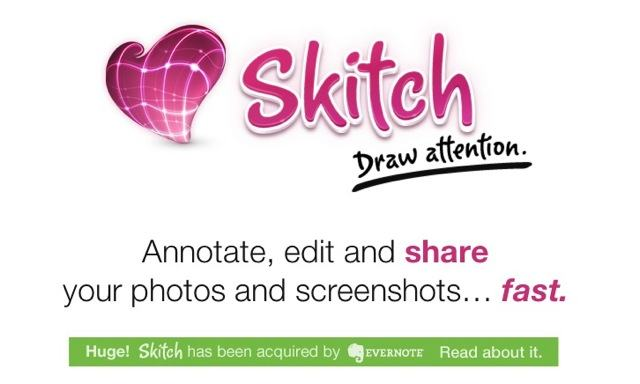 Evernote adquire a Skitch