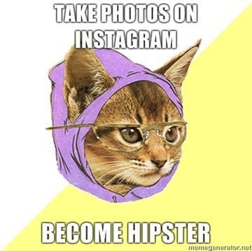 Hipster Kitty quem disse.
