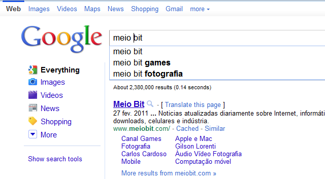 Google: you're doing it right!