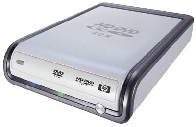 HP lança o primeiro drive HD-DVD externo –