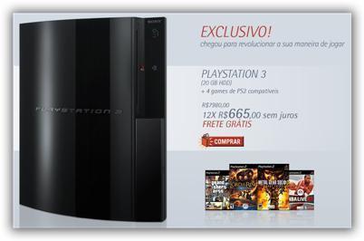 Playstation 3 llega a Brasil