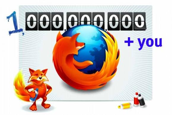 Firefox: baixado 1 bilhão de vezes. (Reprodução)