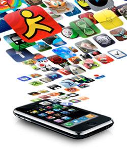 Mais de 60 mil apps estão disponíveis na App Store.