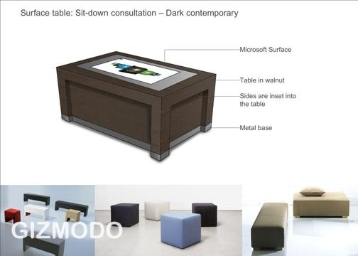 Microsoft Surface também marcará presença na loja. (Gizmodo)