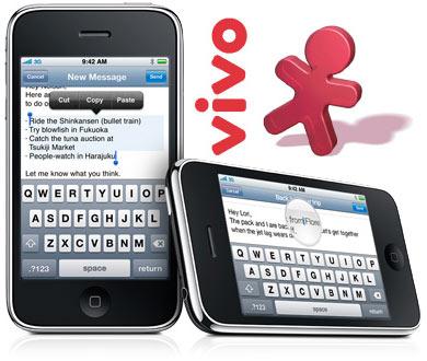 Vivo anunciou iPhone 3GS através de Twitter.