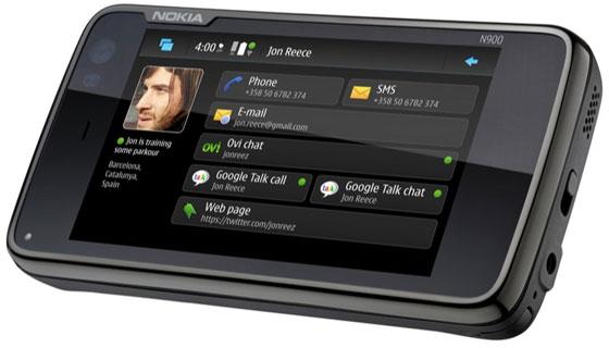 Nokia N900 com Maemo, baseado em Debian.