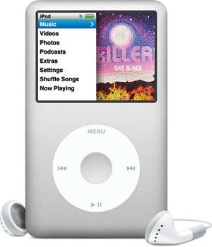 """iPod Classic: com """"apenas"""" 160GB."""