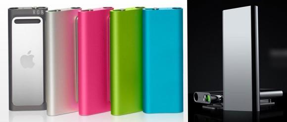 iPod Shuffle disponível em várias cores. (+)
