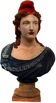 Marianne, símbolo nacional francês, provavelmente está de luto.