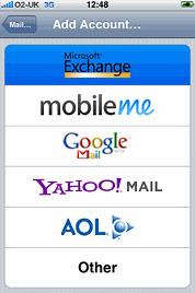 Push no Gmail: depende de Exchange.