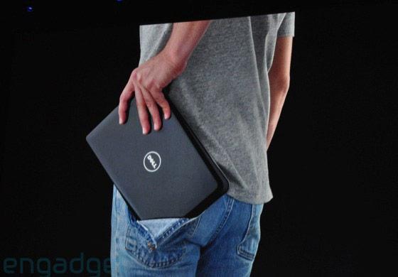 Apple alfineta Dell Mini, que definitivamente não cabe no bolso. (Engadget)