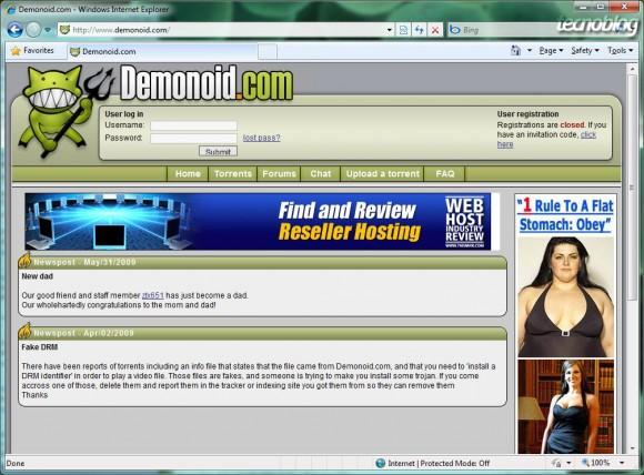 Oi Velox + OpenDNS = Demonoid online. (+)