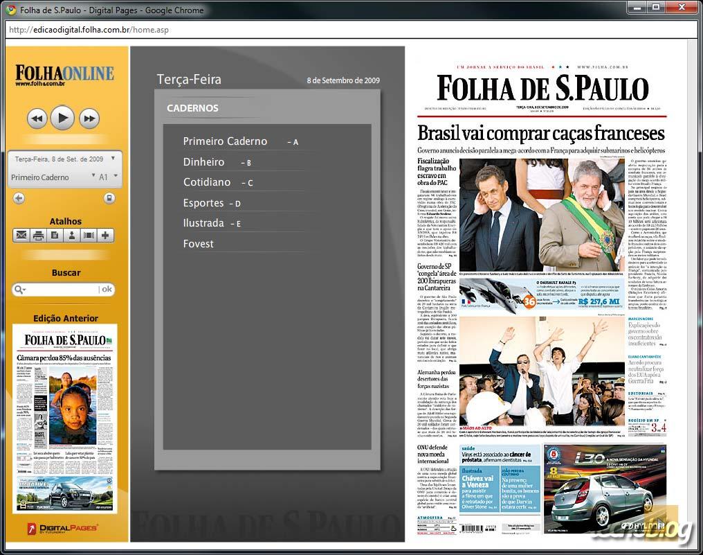 Folha de São Paulo lança nova versão digital – Tecnoblog 02f15c5188fdd