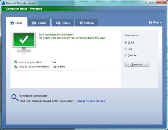 MSE: verificação rápida levou pouco mais de 10 minutos para ser concluída. (+)