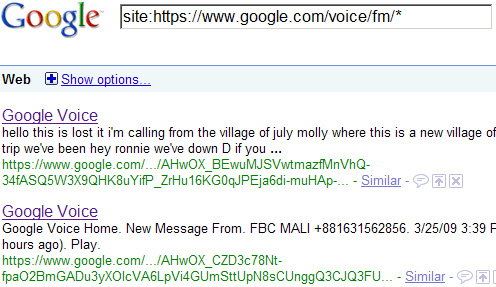google-voicemail