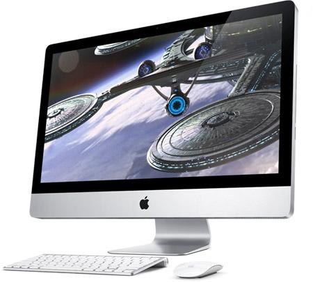Novo iMac rodando Star Trek