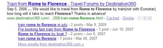 Busca em fóruns funcionando. (Reprodução)