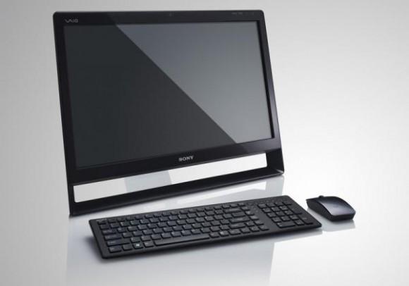 Sony Vaio L tudo-em-um funciona como PC e TV. Clique para ampliar. (Divulgação)
