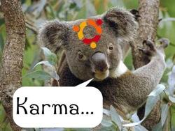 O Karmic Koala está a caminho…