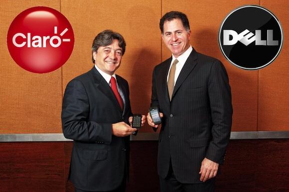 João Cox e Michael Dell apresentam o novo Dell Mini 3.