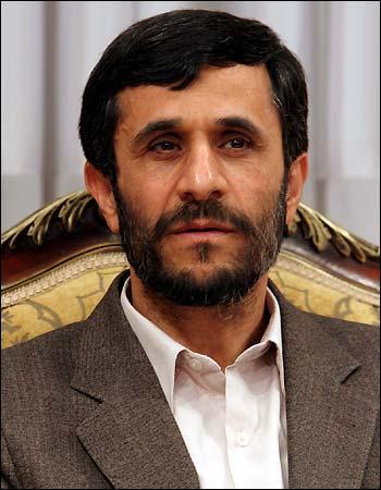 Mahmoud Ahmadinejad levou esse prêmio de maneira legítima.