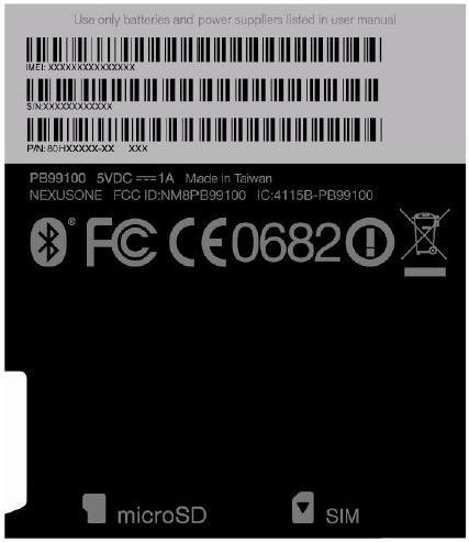 Imagem que confirma o nome Nexus One