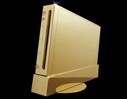 O Wii de ouro é só um Wii