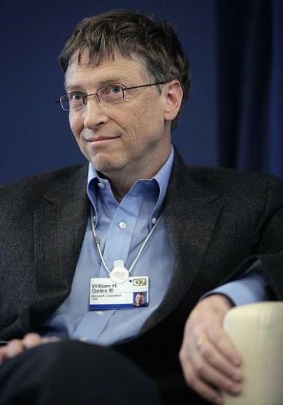 Gates: 500 milhões atrás de Slim. (Fórum Econômico Mundial/Divulgação)