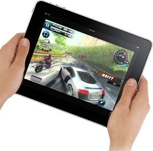 Jogatina também no iPad.
