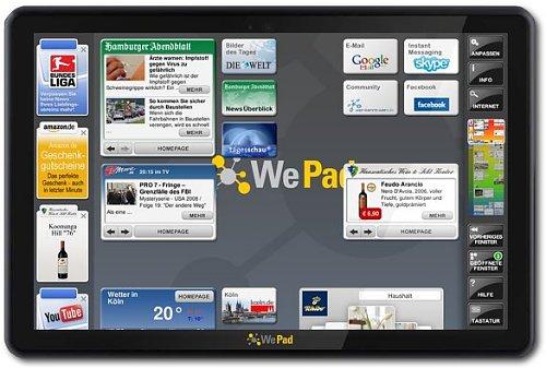 Conoce a WePad, una tableta Android
