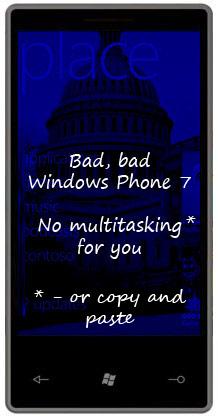 Windows Phone 7 não terá copiar e colar [atualizado]