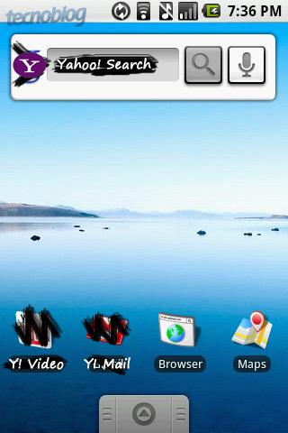 Yahoo, prontinho: pode copiar a interface do Android portada para vocês.
