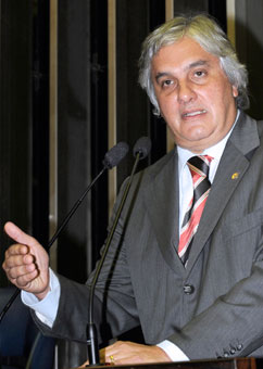 Delcídio Amaral (PT/MS), pai da ideia. (Foto: Moreira Mariz/Ag Senado)