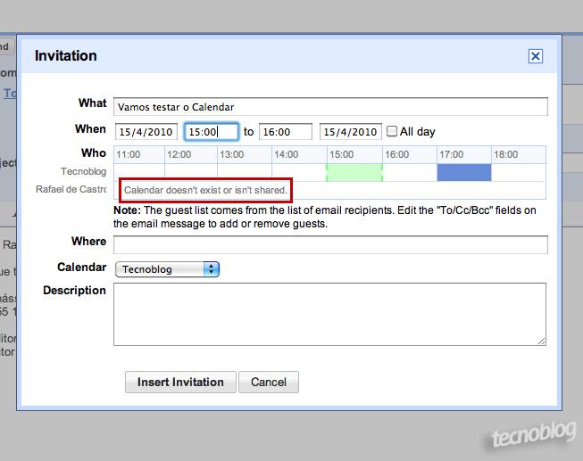 Gmail envia convites para google calendar tecnoblog infelizmente stopboris Images
