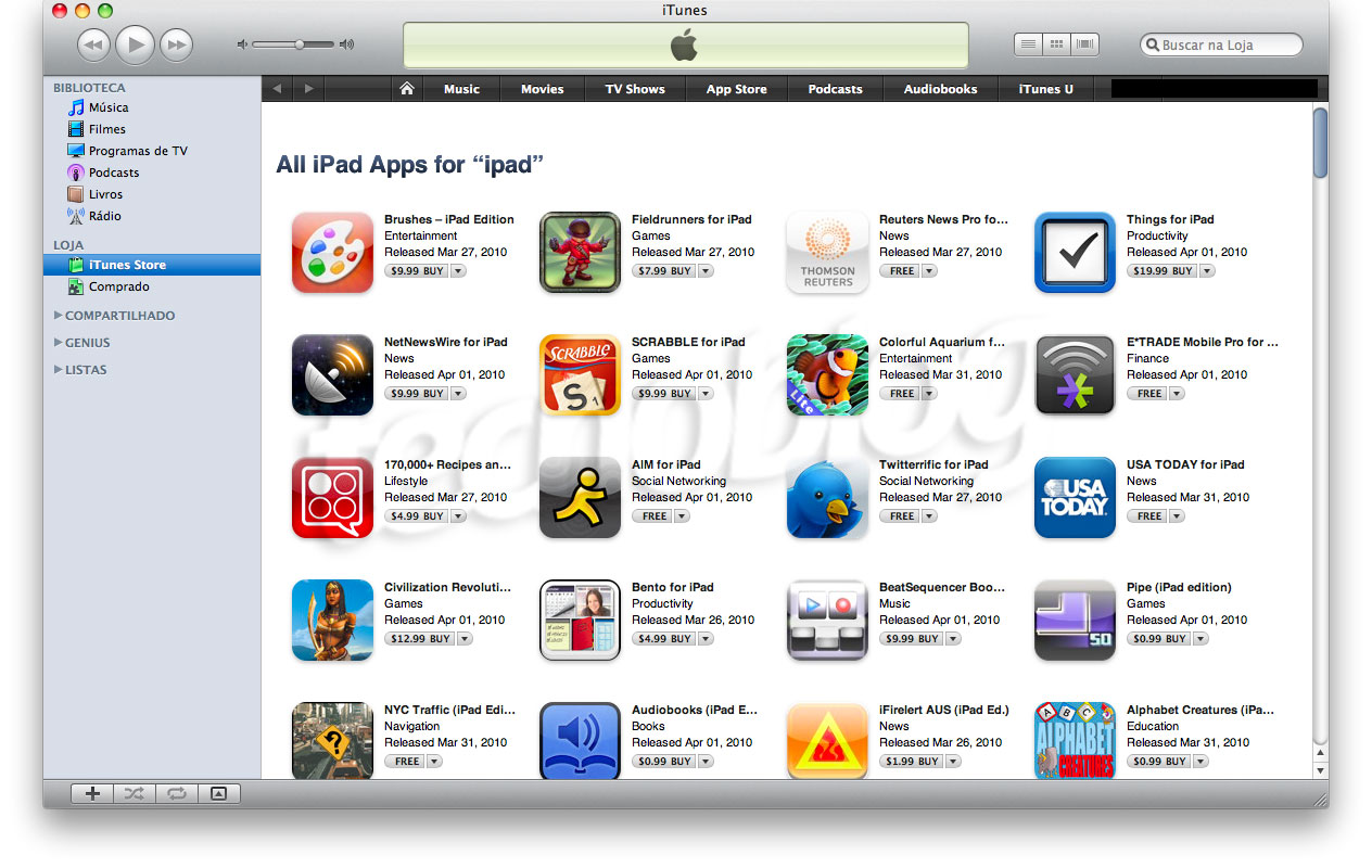 where is how to and add to ipad on itunes